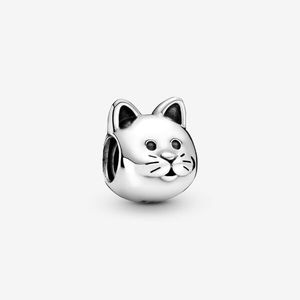 NWT Pandora Kitty Cat Charm